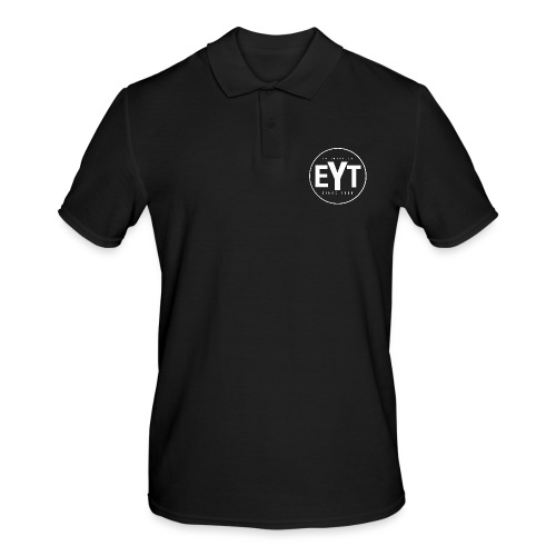 EYT Logo White - Men's Polo Shirt