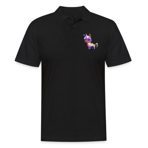 Lamacorn - Männer Poloshirt