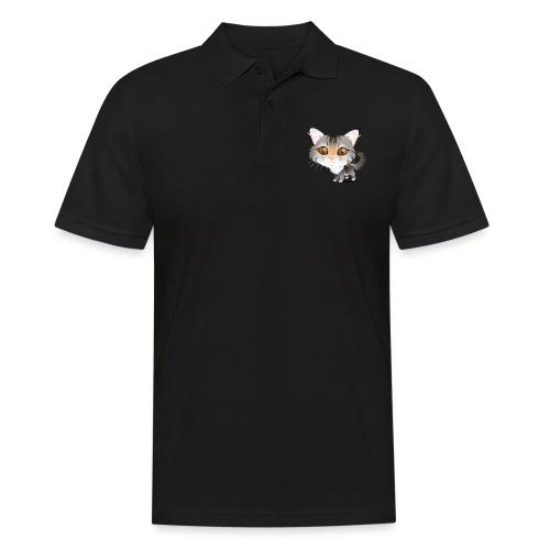 Katze - Männer Poloshirt