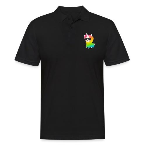 Regenbogenanimation - Männer Poloshirt