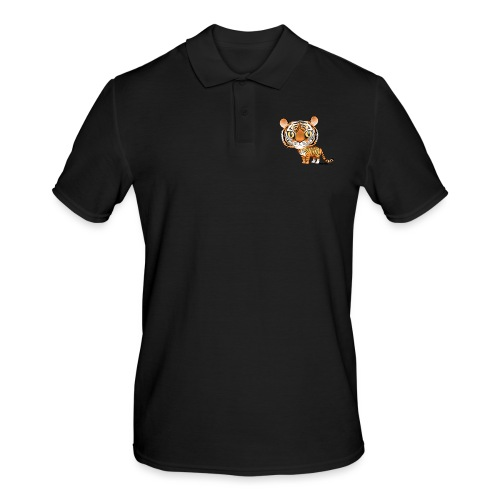 Tiger - Männer Poloshirt