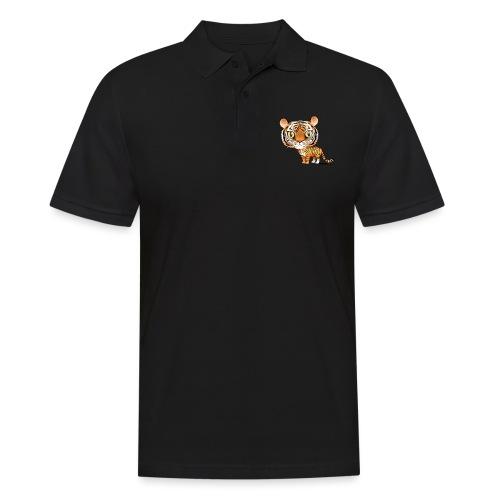 Tygrys - Koszulka polo męska