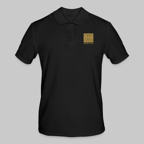 #Bestewear - Golden Snake - Männer Poloshirt