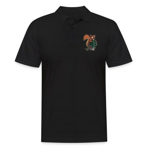 Eichhörnchen Granate - Männer Poloshirt