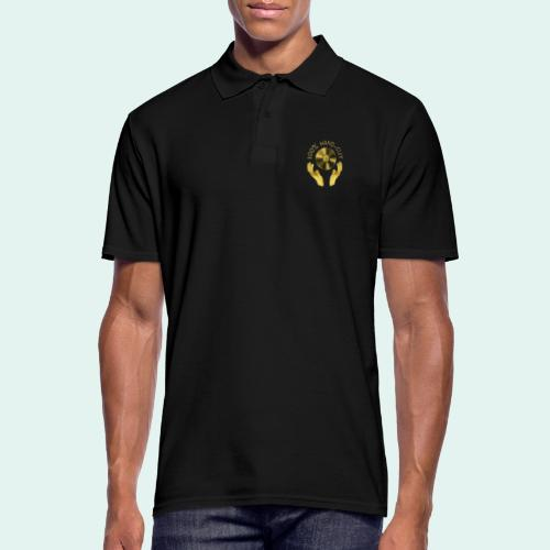 100% HAND-CUT - Men's Polo Shirt