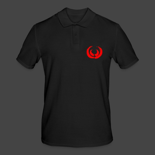 Gewaff-Shirt Blutpinsel - Männer Poloshirt
