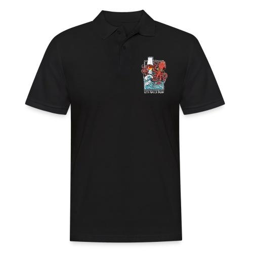 Krake: Let's have a Dram - Männer Poloshirt