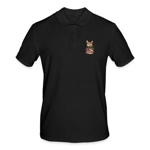 T-shirt - Crazy Cat - Polo Homme