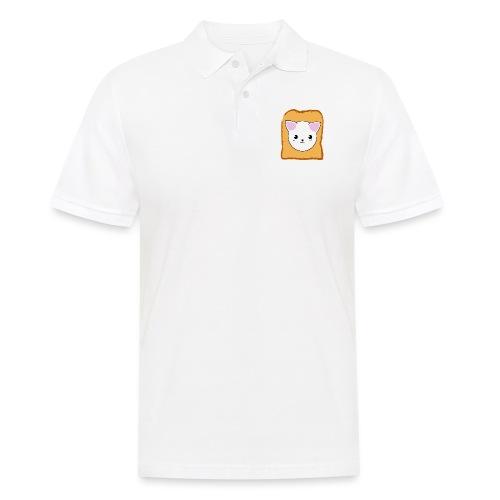 Toast Cat - Männer Poloshirt