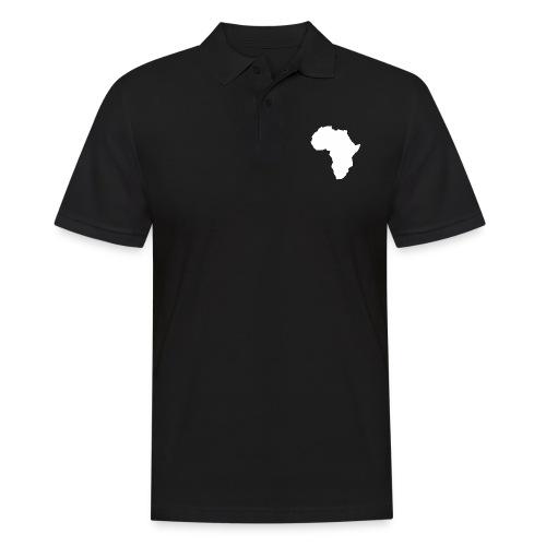 Africa Weiß - Männer Poloshirt