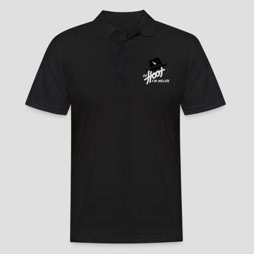 daeHoot_Shirt_Logo1_2c - Männer Poloshirt