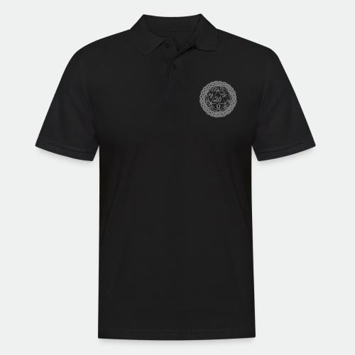 D20 Geschenk Glücksbringer Rollenspiel Würfel - Men's Polo Shirt