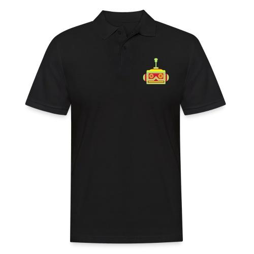 Robot head - Men's Polo Shirt