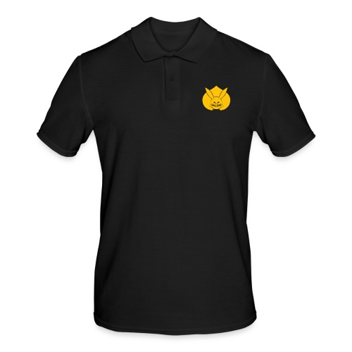 Usagi kamon japanese rabbit yellow - Men's Polo Shirt