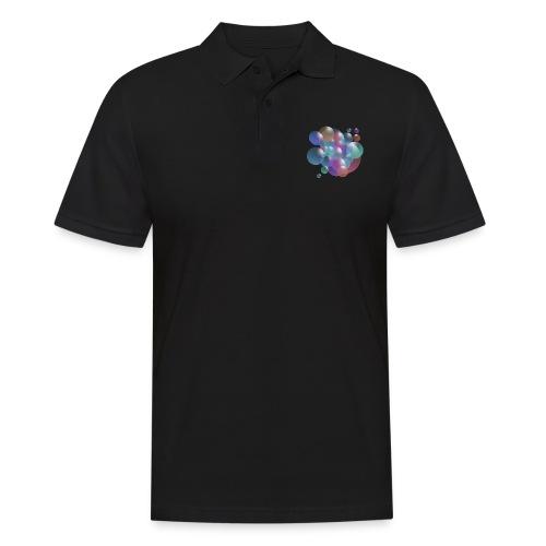 bubble - Männer Poloshirt