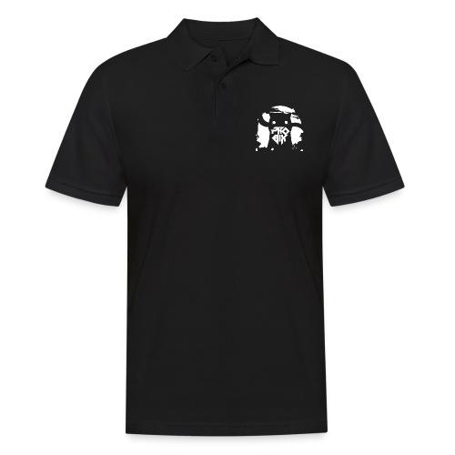white 01big png - Männer Poloshirt
