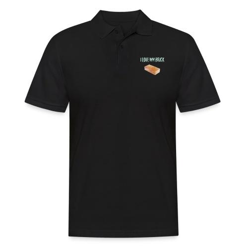I love my brick - Men's Polo Shirt