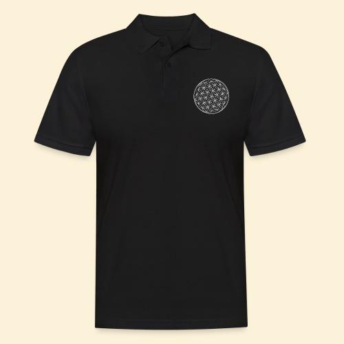 Lebensblume - Männer Poloshirt