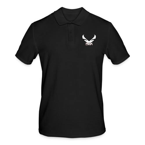 Black | MxR - Männer Poloshirt