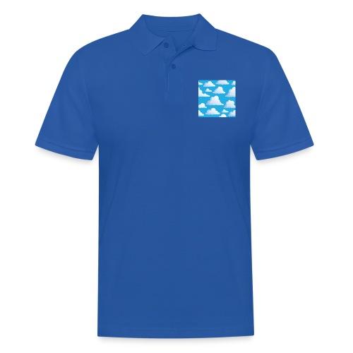 Cartoon_Clouds - Men's Polo Shirt