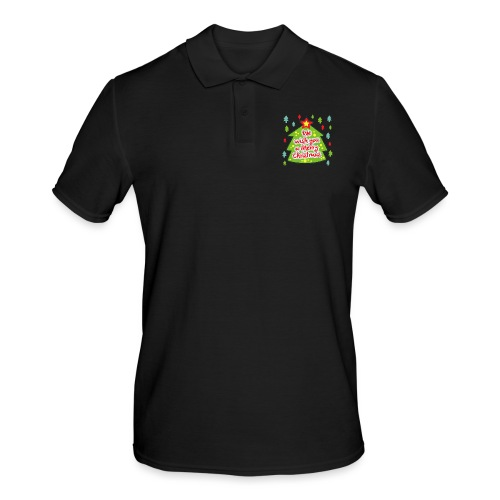 We wish you a Merry Christmas - Men's Polo Shirt