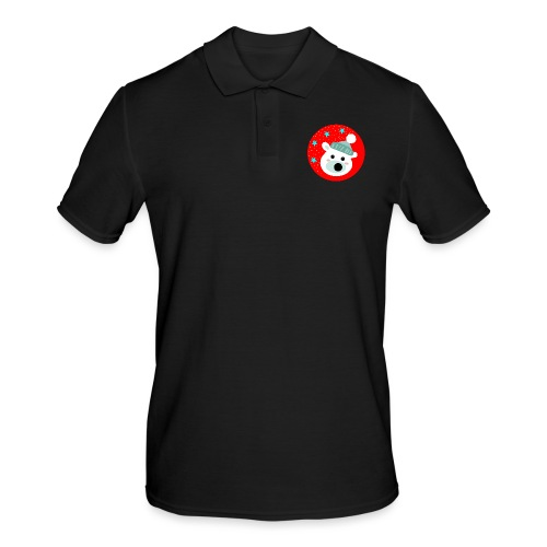 Winter bear - Men's Polo Shirt