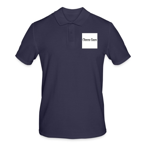 Classy Guys Simple Name - Men's Polo Shirt