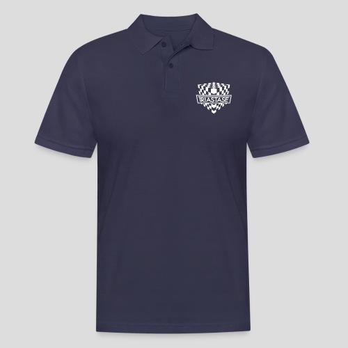 Triastase Logo White - Men's Polo Shirt