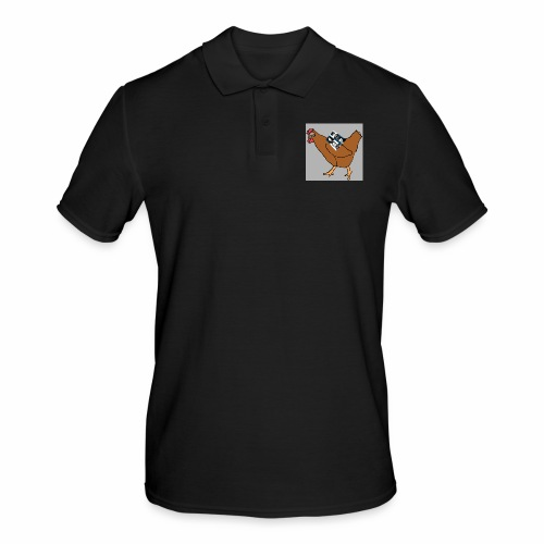 Quad Chicken Logo - Men's Polo Shirt