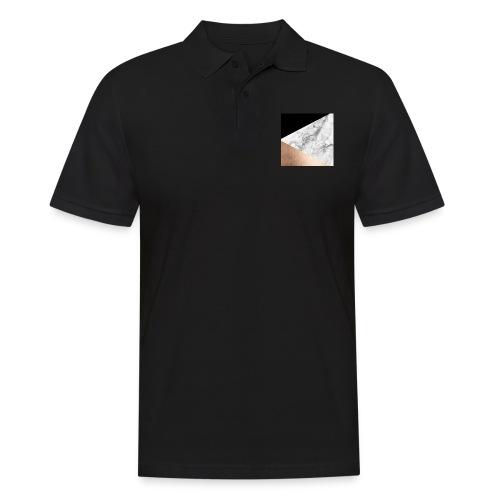 Marmor handyhülle - Männer Poloshirt