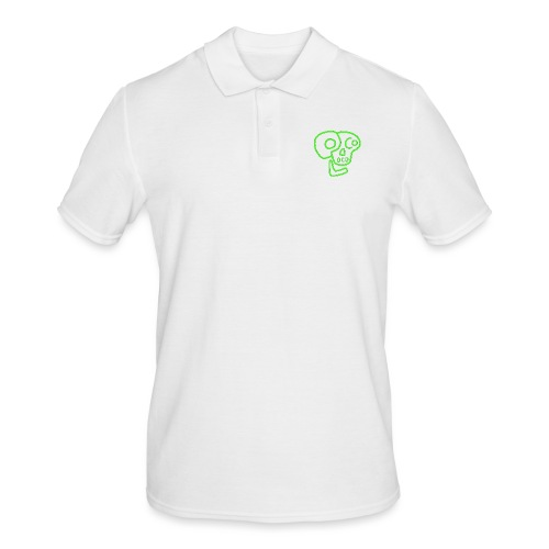 poco loco logo green - Men's Polo Shirt