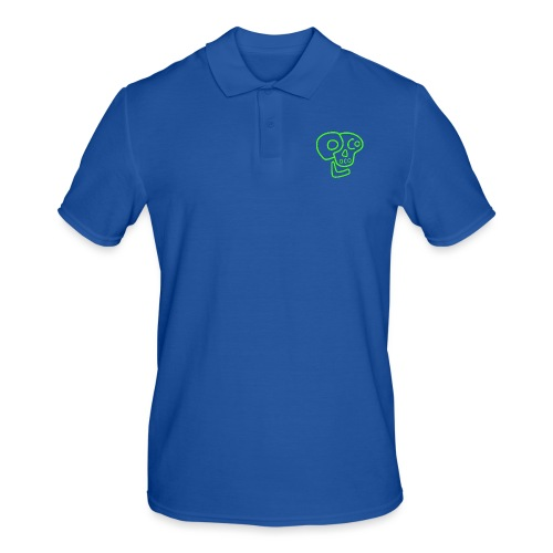 poco loco logo green - Men's Polo Shirt
