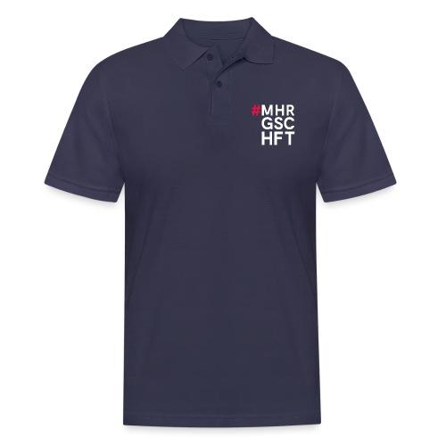 #MHR GSCHFT - Männer Poloshirt