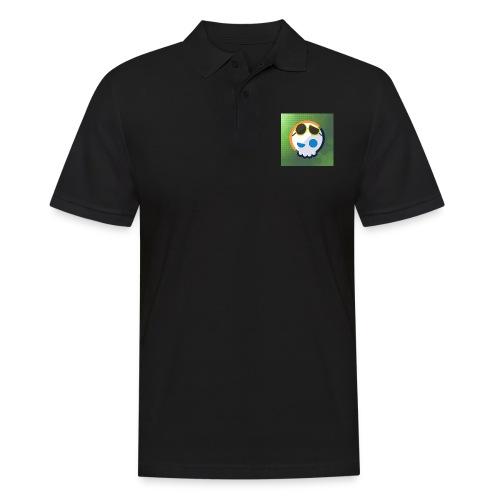 6961 2Clockstin skull - Men's Polo Shirt