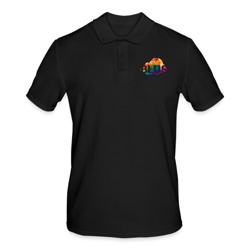 BURNER Logo - Men's Polo Shirt