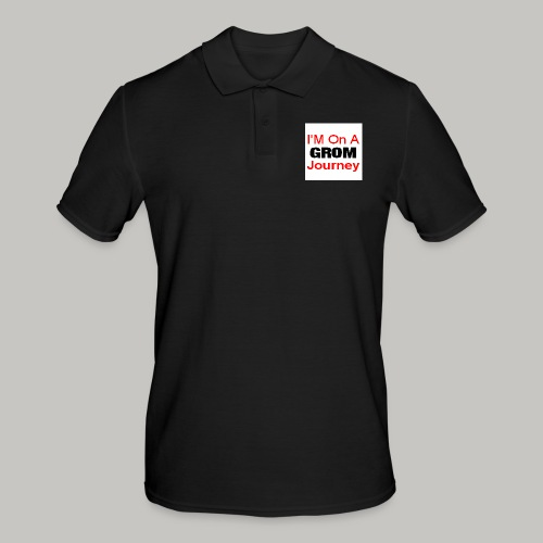 i am on a grom journey - Men's Polo Shirt