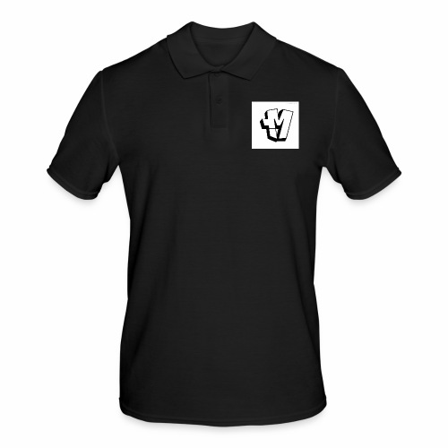 graffiti alphabet m - Men's Polo Shirt