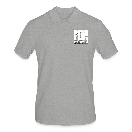 W.O.T War tactic, tank shot - Men's Polo Shirt