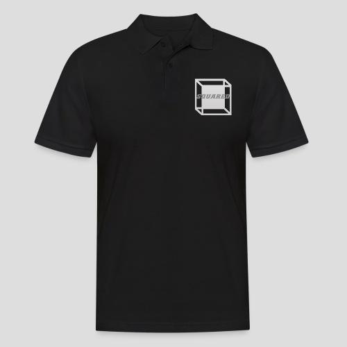 Squared Apparel Logo White / Gray - Men's Polo Shirt