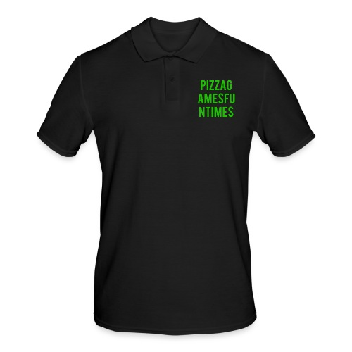 Simple green. - Men's Polo Shirt