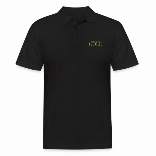 Schtephinie Evardson: Ultra Premium Gold Edition - Men's Polo Shirt
