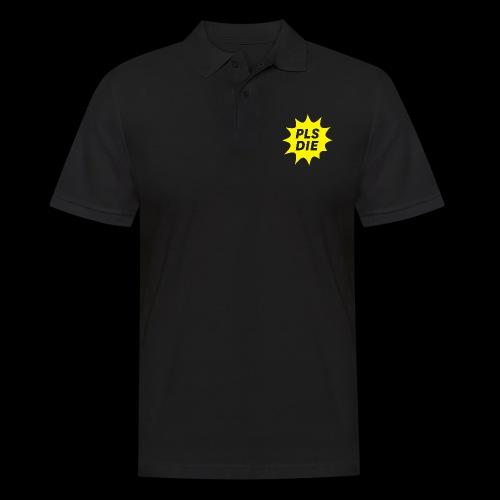 PLSDIE Hatewear - Männer Poloshirt