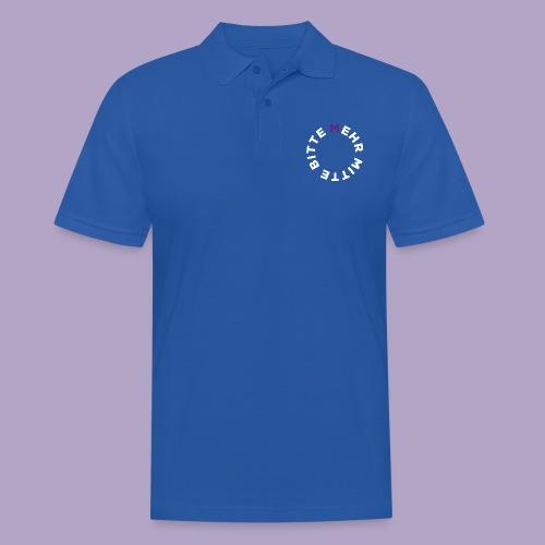 Mehr Mitte Bitte | Julius Raab Stiftung - Männer Poloshirt