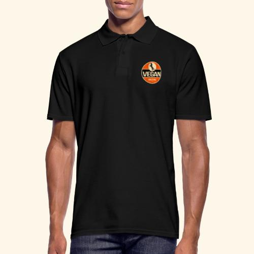 VEGAN Prancing Horse - Men's Polo Shirt