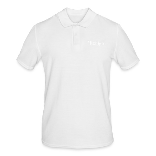 Milehigh Rags Logo White - Poloskjorte for menn