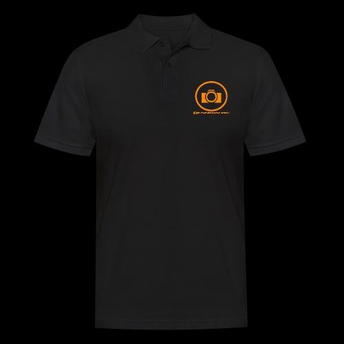 Orange 2 png - Herre poloshirt