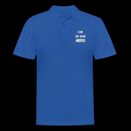 I AM MY OWN HERO - Men's Polo Shirt