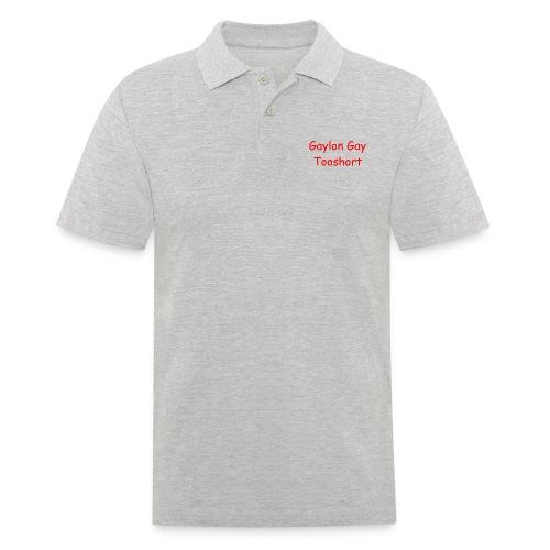 Gaylon Gay Tooshort - Men's Polo Shirt