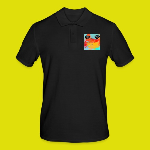 grey hoodie youtube logo - Men's Polo Shirt