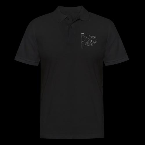 Tintenfisch-Logo Weiss - Männer Poloshirt